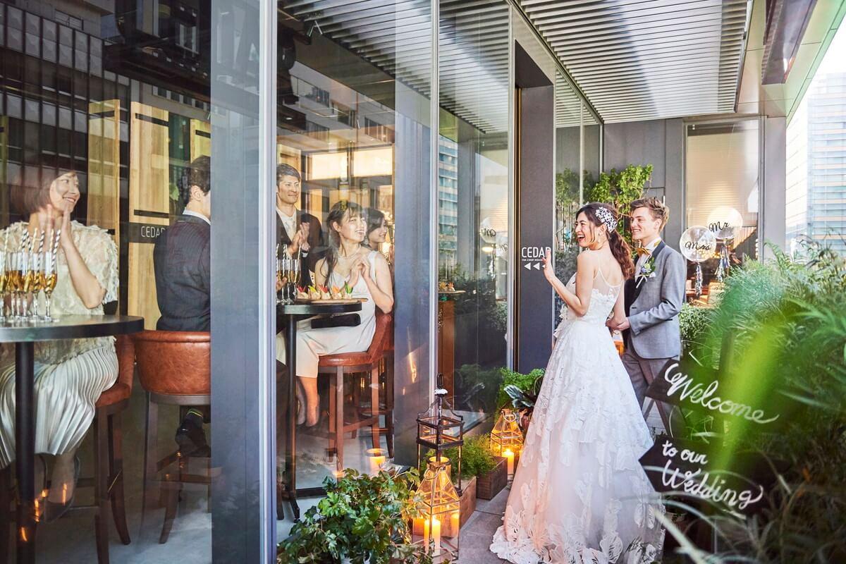 六本木 東京 の結婚式場 レストランウェディング 公式 セダー ザ
